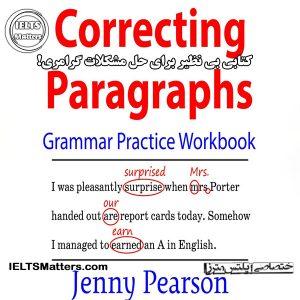 دانلود کتاب Correcting Paragraphs Grammar Practice Workbook