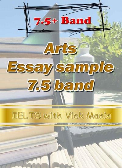 دانلود رایگان کتاب Essays on Art Vick Maniya-IELTS Essay 7