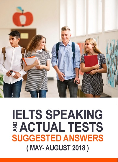 دانلود رایگان کتاب IELTS Speaking Actual Tests May-August2018