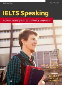 IELTS Speaking Actual Tests November2016