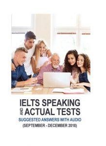 دانلود رایگان کتاب IELTS Speaking Actual Tests Sep-Dec2018