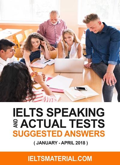 دانلود رایگان کتاب IELTS speaking Actual Tests(January-April)2018