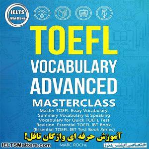 دانلود کتاب TOEFL Vocabulary Advanced Masterclass
