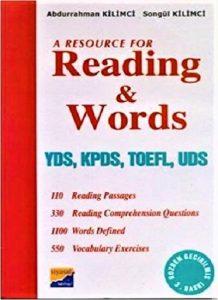دانلود رایگان کتاب A Resource for Reading and Words
