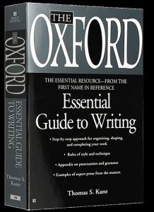 دانلود رایگان کتاب The Oxford Essential Guide to Writing