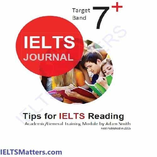 دانلود ریدینگ آیلتس ژورنال-IELTS Journal Reading A&G