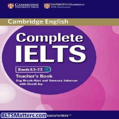 دانلود کتاب Complete IELTS-Teacher's book Bands 6.5-7.5