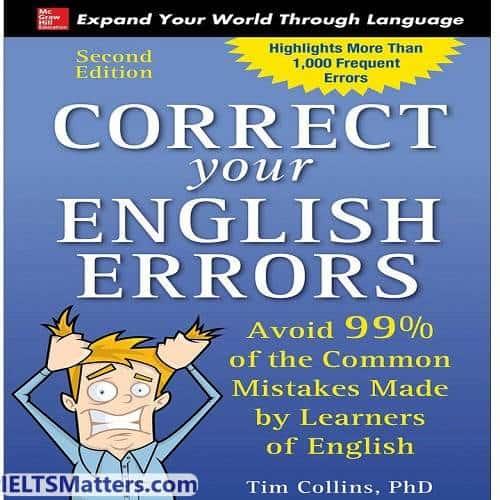 دانلود کتاب correct your English errors