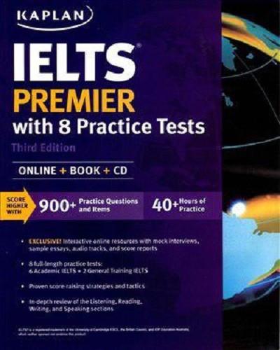 دانلود کتاب KAPLAN IELTS PREMIER with 8 practice tests