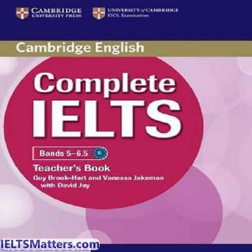 دانلود کتاب Complete IELTS-Teacher's book Bands 5-6.5